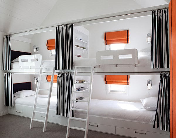 le lit mezzanine nos id es pour un int rieur moderne. Black Bedroom Furniture Sets. Home Design Ideas