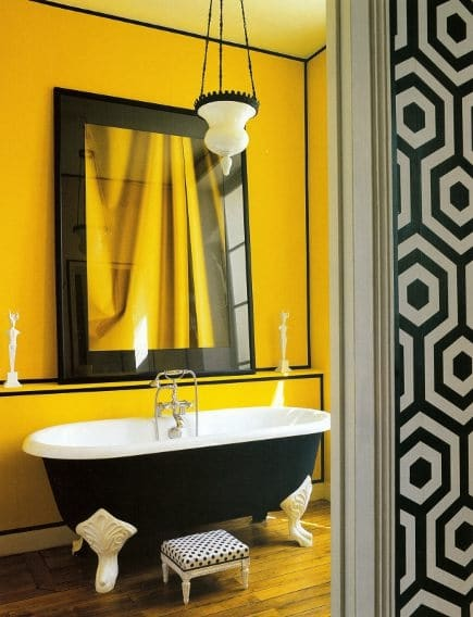 Stunning Salle De Bain Jaune Et Vert Ideas - Awesome Interior Home ...