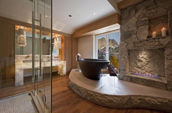 Salle de bains en pierre : 35 modèles en marbre, granit, basalte et  quartzite