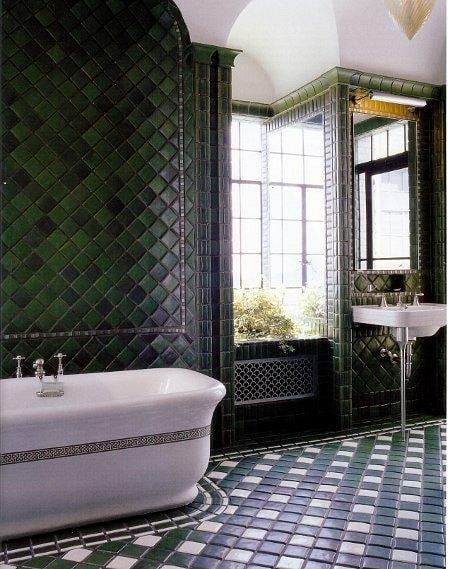 salle de bain vert foncé - 28 images - salle de bain verte dcoration ...
