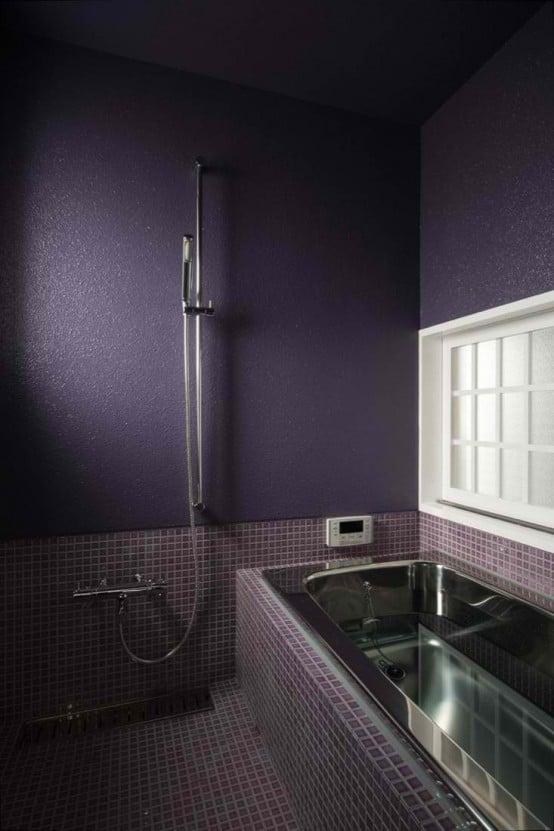 Salle de bains violette 33 id es pour vous convaincre for Salle de bain violet