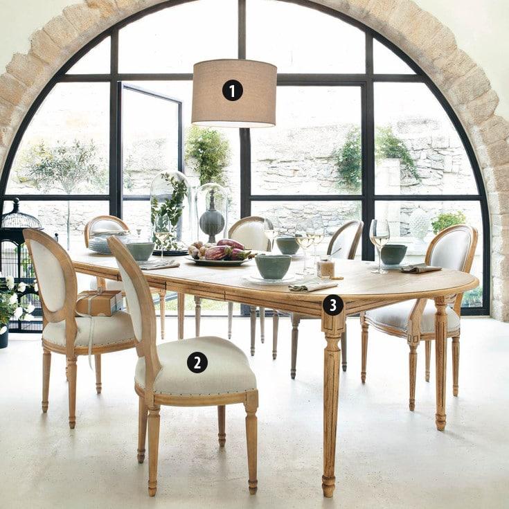 La salle à manger Atelier: retour au style classique chez Maisons du ...