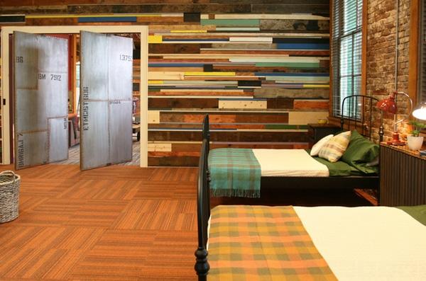 mur en palette pour chambre 20 styles qui vont tout changer. Black Bedroom Furniture Sets. Home Design Ideas