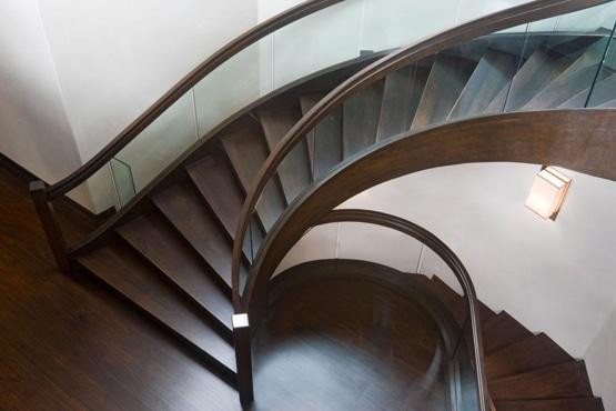 escalier chocolaté