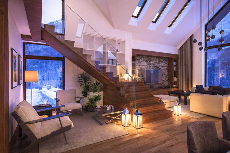 escaliers en bois d couverte des 57 plus beaux mod les. Black Bedroom Furniture Sets. Home Design Ideas