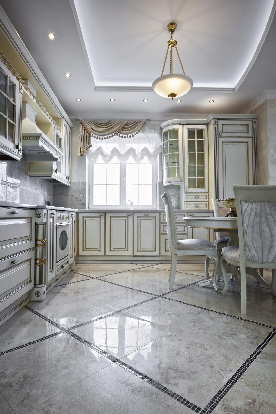 Cuisine Style Ancien cuisine blanche de luxe: 36 exemples et conseils pour l'aménager