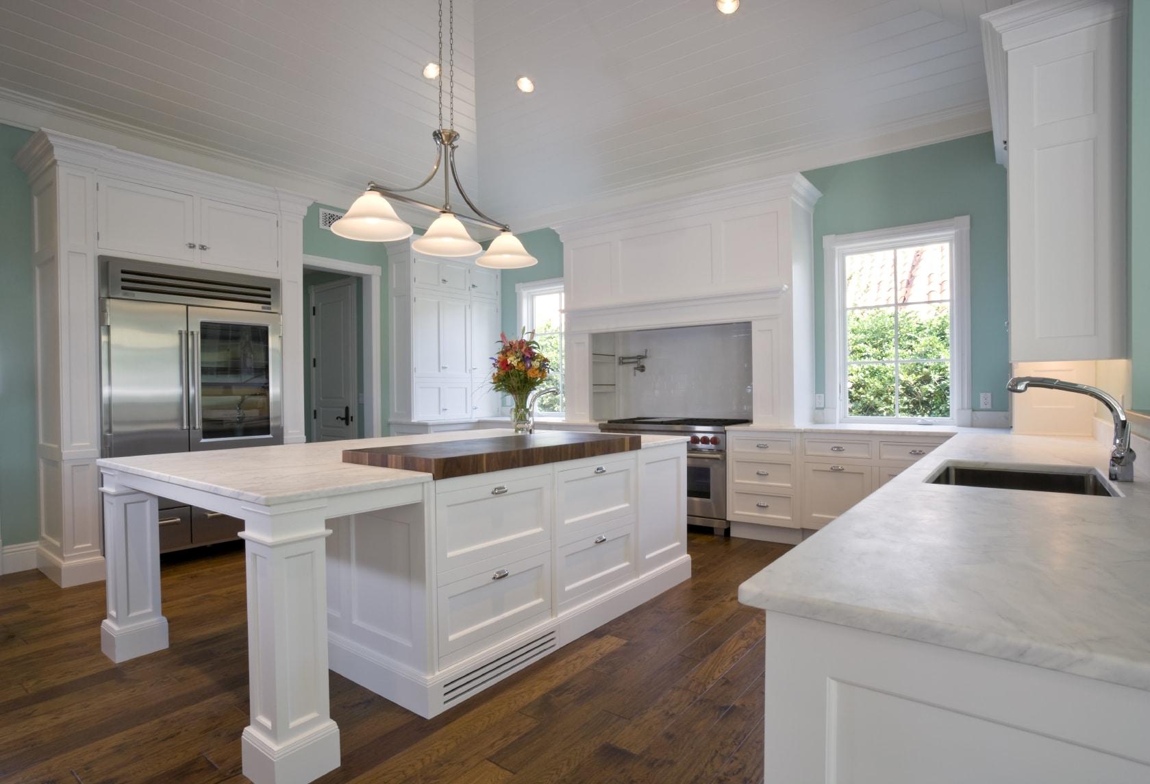 Cuisine blanche : 36 idées de luxe pour une cuisine design
