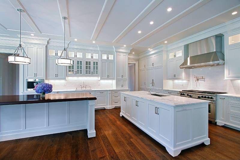 Populaire Cuisine blanche : 36 idées de luxe pour une cuisine design TT57