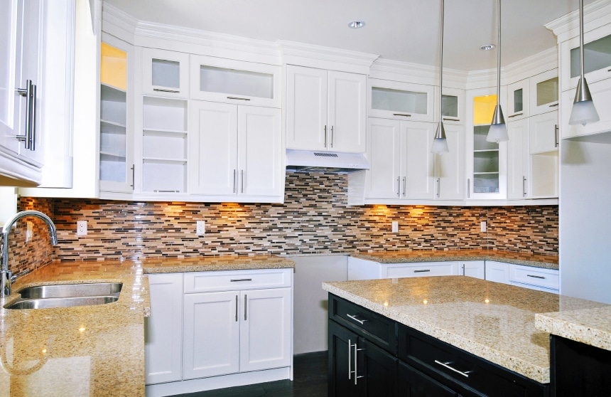 Idee Mosaic Backsplash