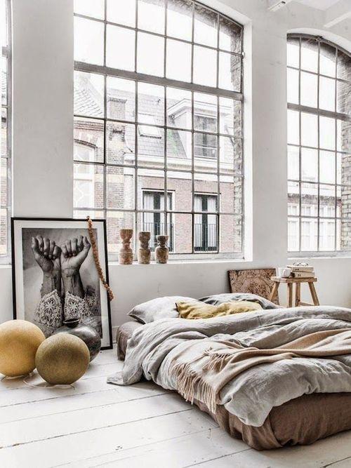 Chambre de style industriel: 28 idées pour une chambre chic et ...