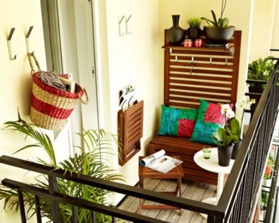Aménagement De Petit Balcon : 40 Idées Décoration !