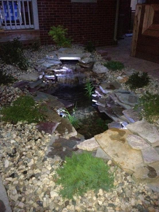 50 photos de bassin de jardin dans tous les styles - Amenagement d un bassin de jardin ...