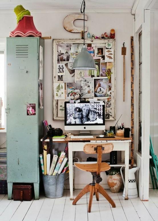 Bureau de style industriel 23 id es et conseils d 39 am nagement moderne house 1001 photos - Trend deco huis ...