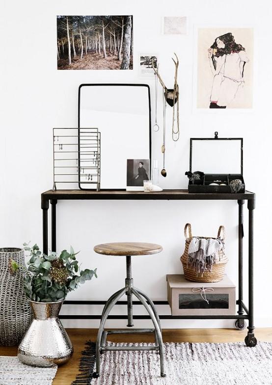 Bureau De Style Industriel 23 Id Es Et Conseils D
