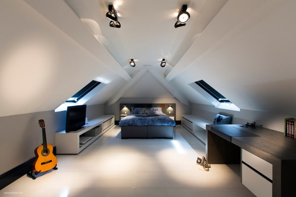 Chambre mansard e 39 id es pour am nager cet espace - Idee deco slaapkamer jongen jaar ...
