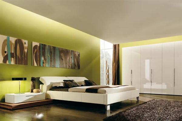 idees de chambre verte - Chambre Verte Zen
