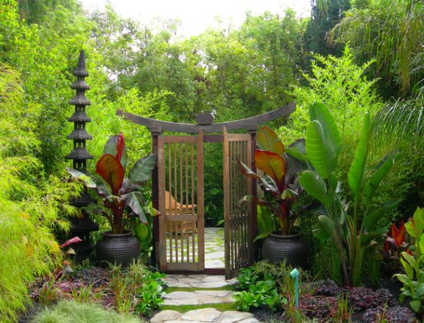 Jardin japonais 28 id es pour am nager votre espace - Idee pour jardin exterieur ...