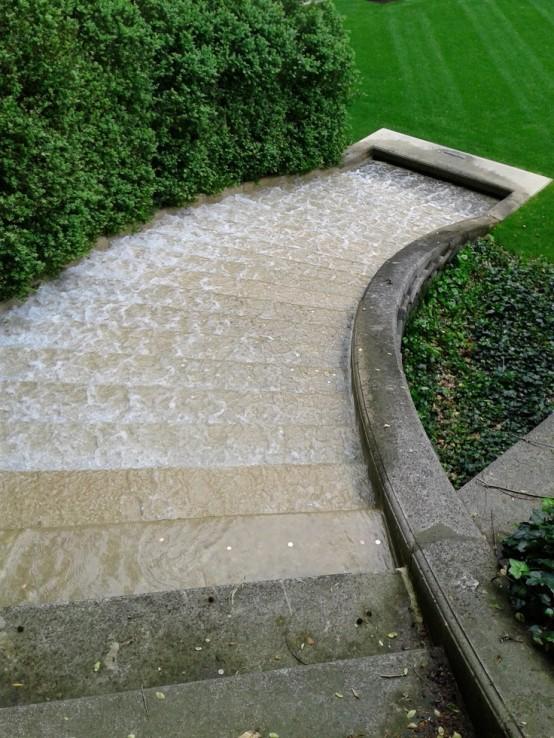 cascade en escalier