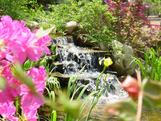 45 photos de bassins avec cascade - Bassin exterieur avec cascade toulouse ...