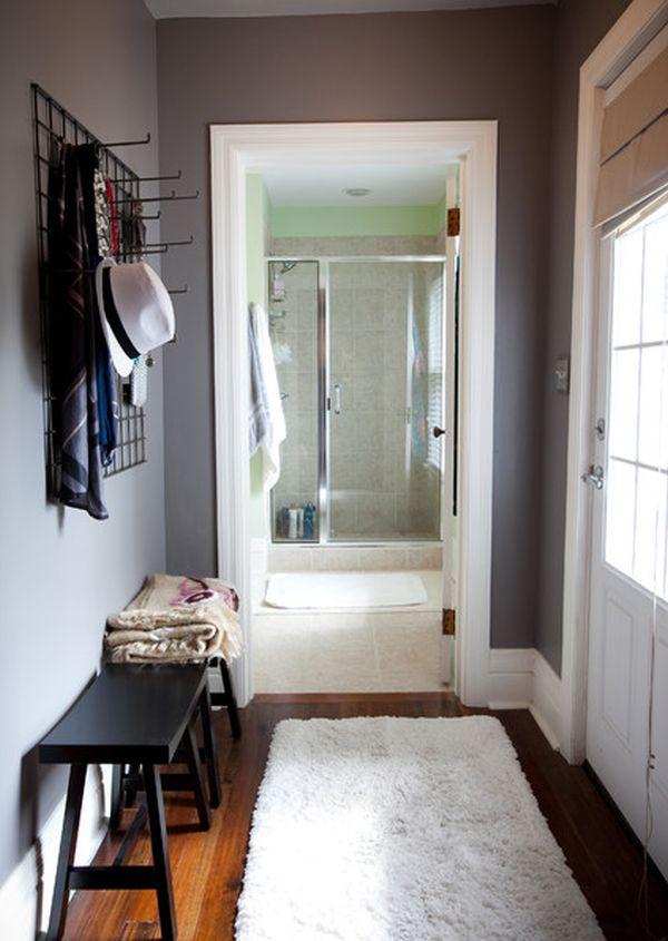 Optimiser l 39 espace dans son entr e 25 id es pratiques moderne house 1001 photos - Idee amenagement hall d voorgerecht ...