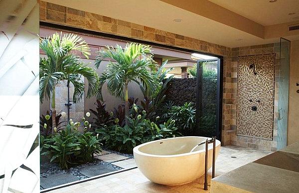 12 idées déco de salle de bains dans un style tropical