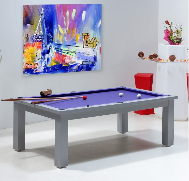 Une table de billard design convertible pour surprendre for Table billard convertible belgique