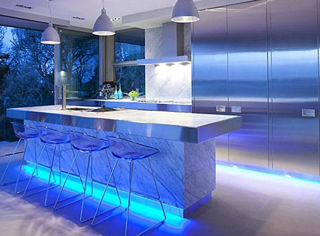 decoration led salon. Black Bedroom Furniture Sets. Home Design Ideas