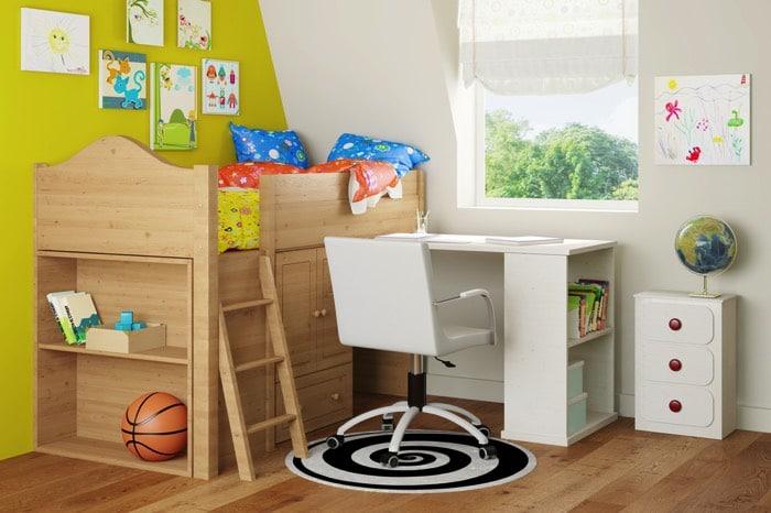 Le lit mezzanine : nos idées pour un intérieur moderne !