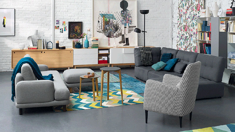 S lection conforama pour un salon vintage moderne house - Idees chambre designmodeles surprenants envoutants ...