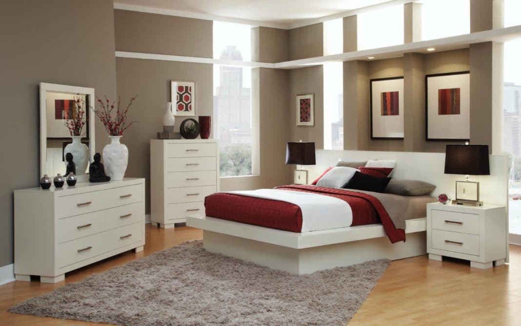 chambre parentale 36 id es pour l 39 organiser et la sublimer. Black Bedroom Furniture Sets. Home Design Ideas