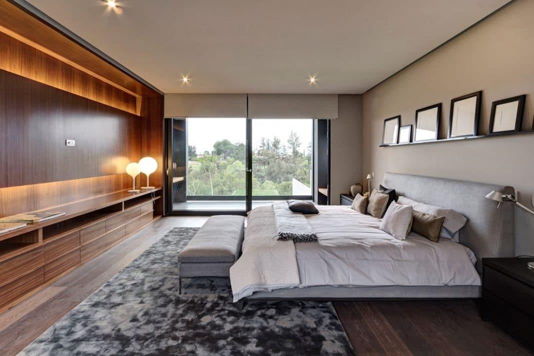 Id es de chambre design 26 mod les surprenants et envo tants for Chambre parentale design