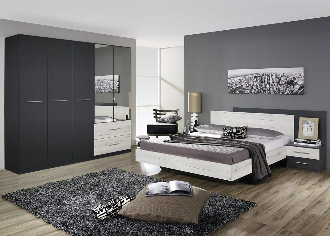 chambre grise un choix original et judicieux pour la. Black Bedroom Furniture Sets. Home Design Ideas