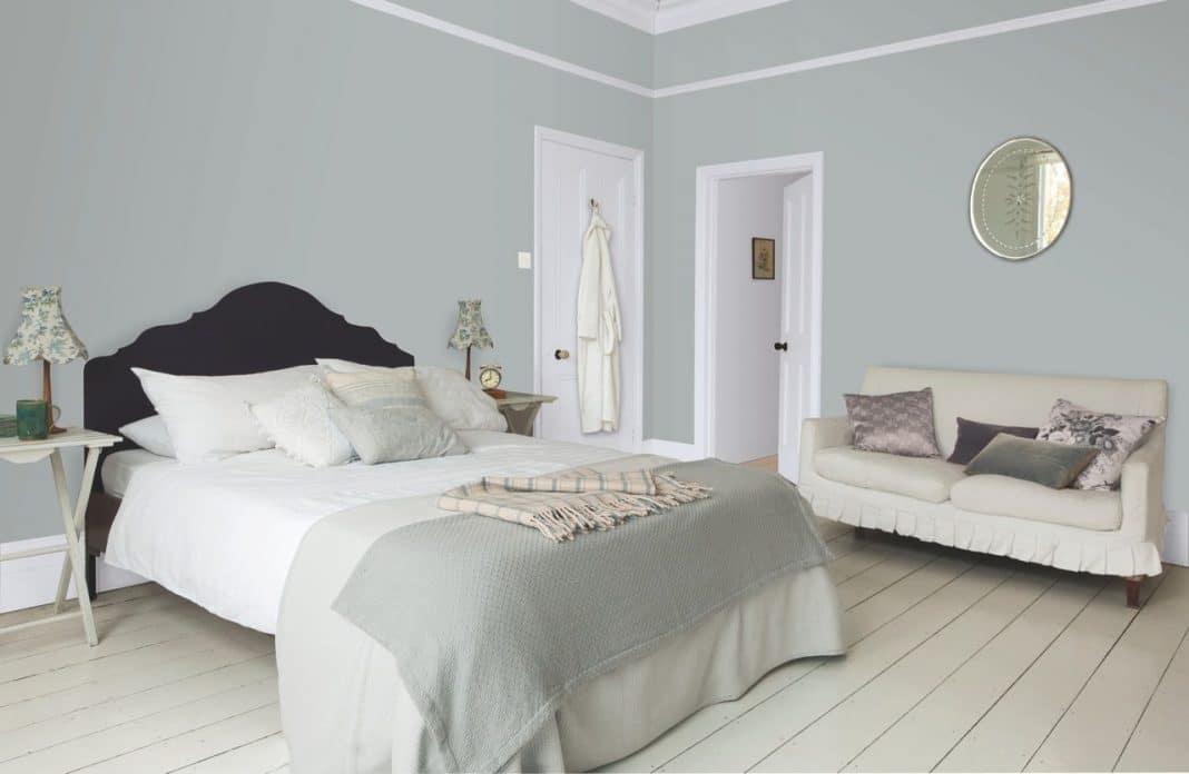 chambre grise decoration chambre grise et blanc u2013. Black Bedroom Furniture Sets. Home Design Ideas