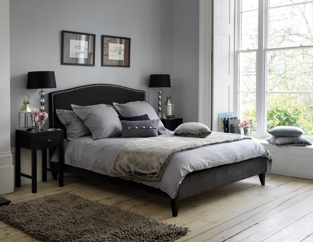 Chambre grise: un choix original et judicieux   moderne house ...