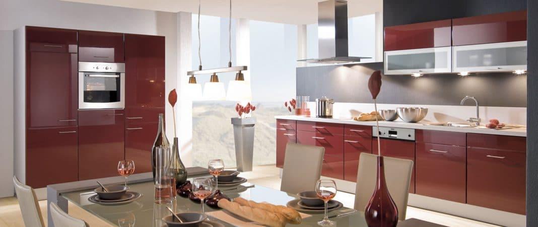Cuisine Rouge Bordeaux 16 Modeles Pour Vous Inspirer