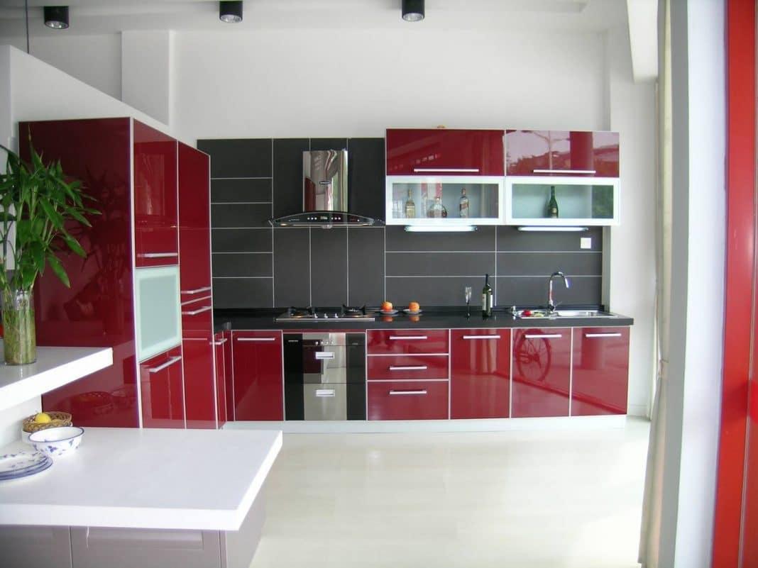 Idee vintage chambre adolescente indogate cuisine rouge for Cuisine rouge et noir