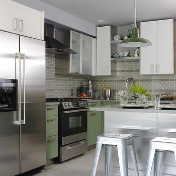 cuisine verte 60 photos et conseils d233co pour une cuisine