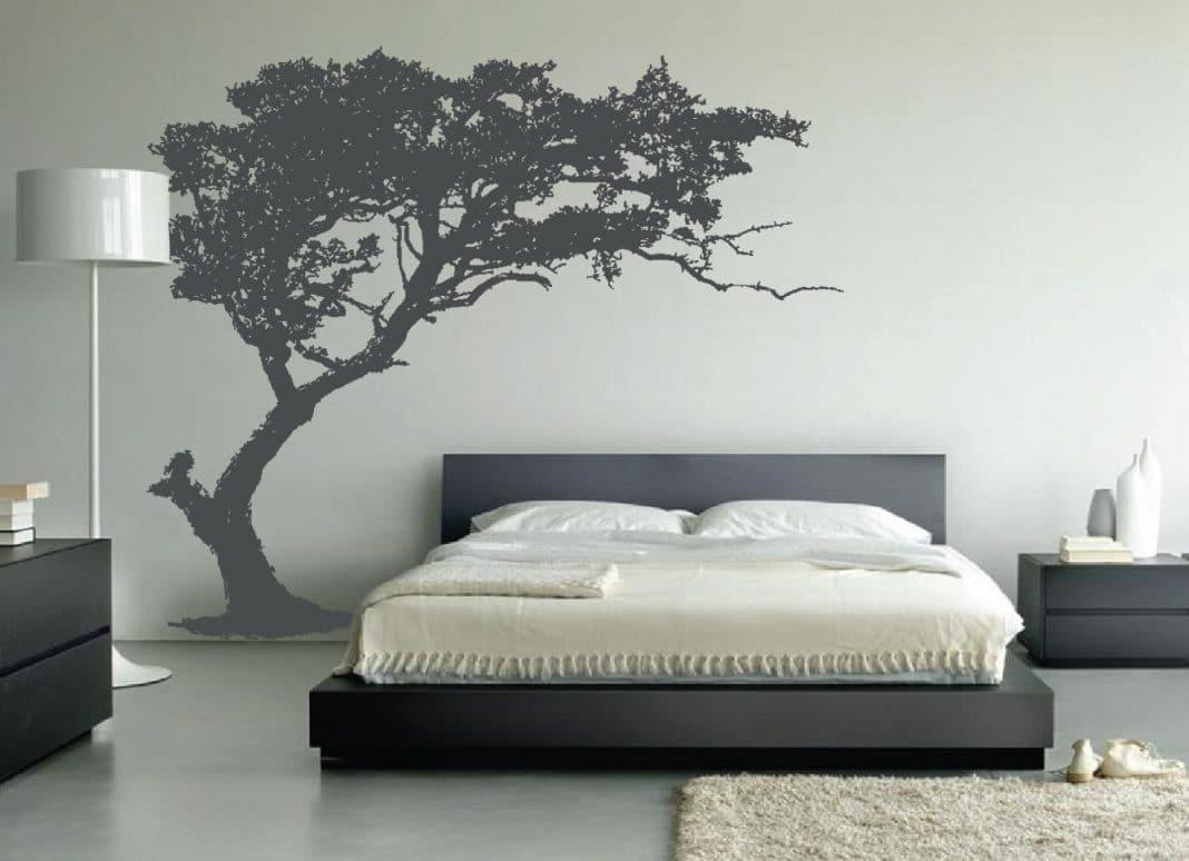 Beautiful Chambre Grise Et Blanche Moderne Ideas - Design Trends ...