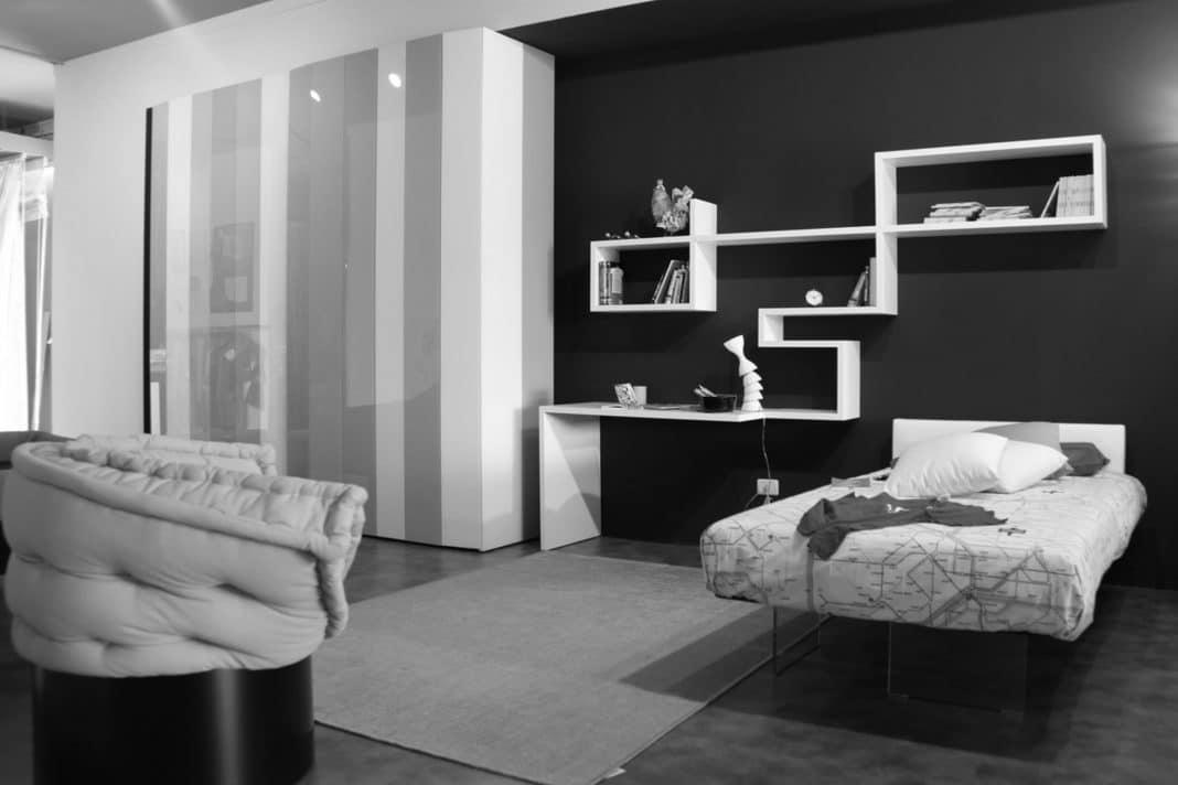 Déco chambre grise