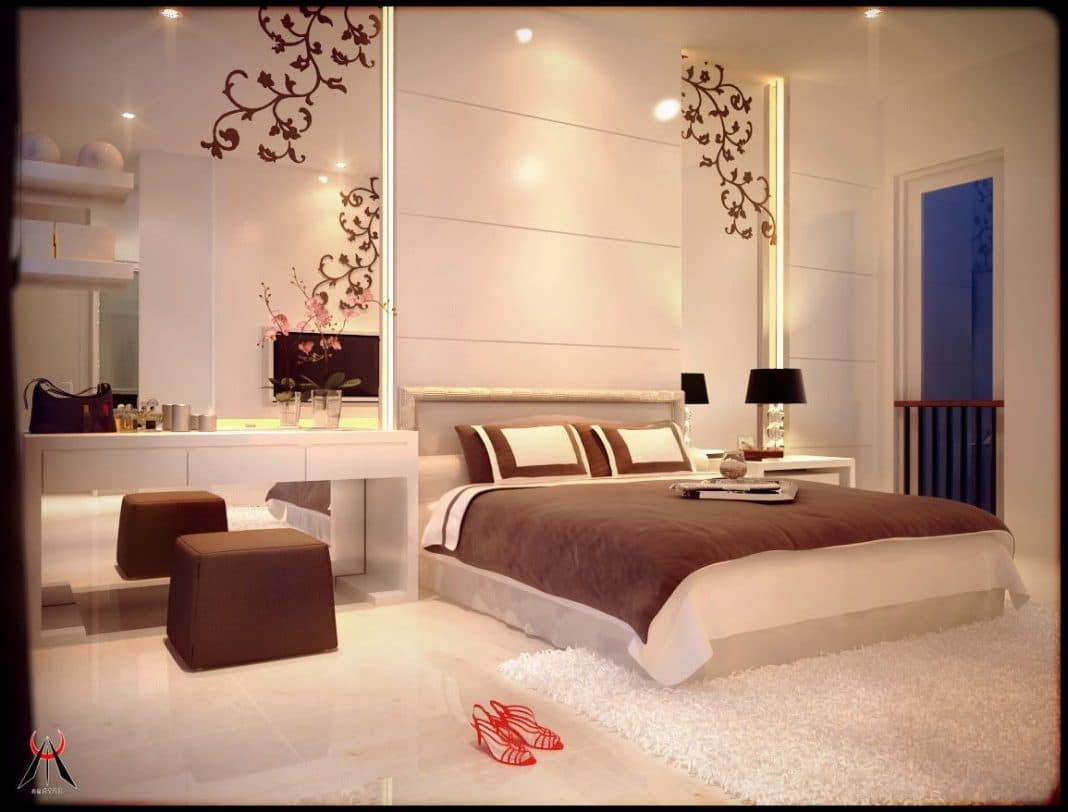Best deco chambre parentale romantique contemporary for Chambre parentale moderne
