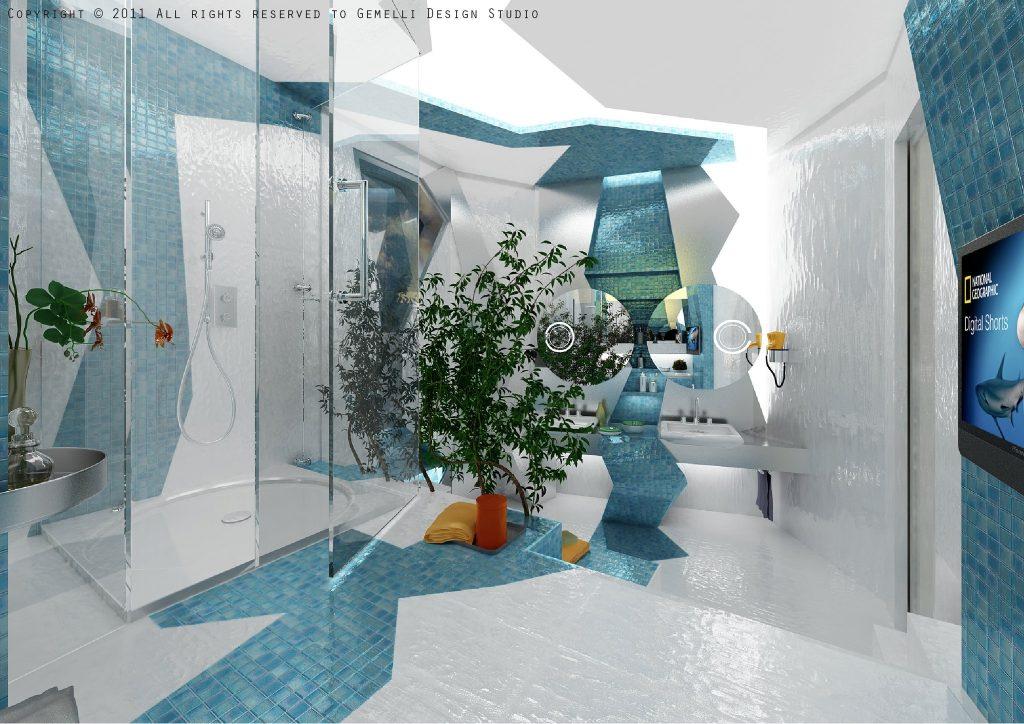 idee chambre gris bleu 14