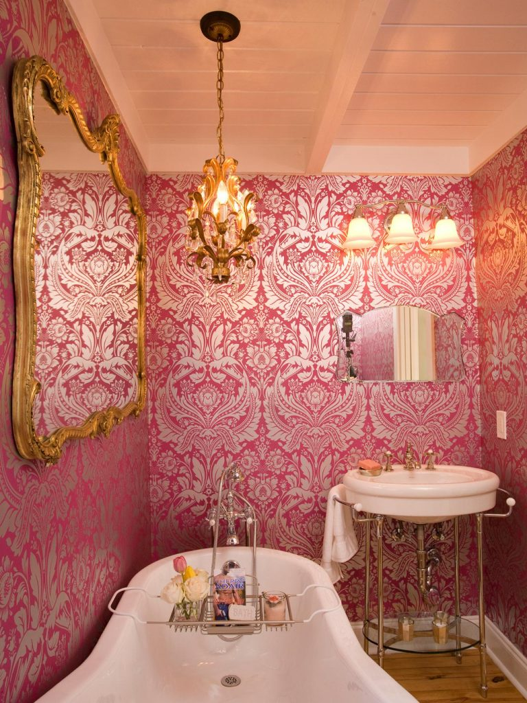 idee chambre rose 20 - Faience Salle De Bain Rose