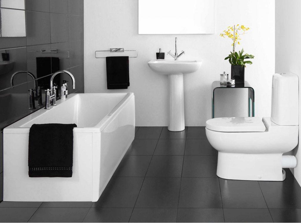 30 idées incroyables de salle de bain gris et blanc