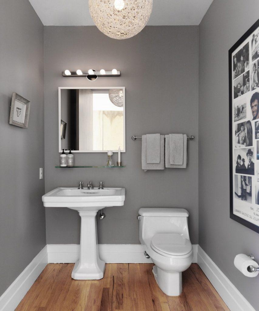 30 idées incroyables de salle de bain gris et blanc - Salle De Bain Grise Et Blanc