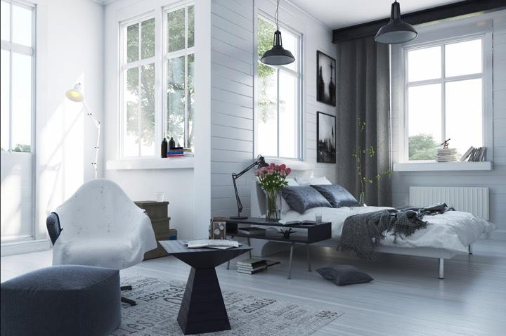 32 styles de parquet pour une chambre d 39 inspiration scandinave for Zen einrichtungsstil