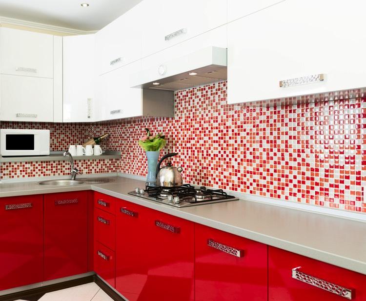 Emejing Faience Cuisine Rouge Et Blanc Gallery - Design Trends 2017 ...