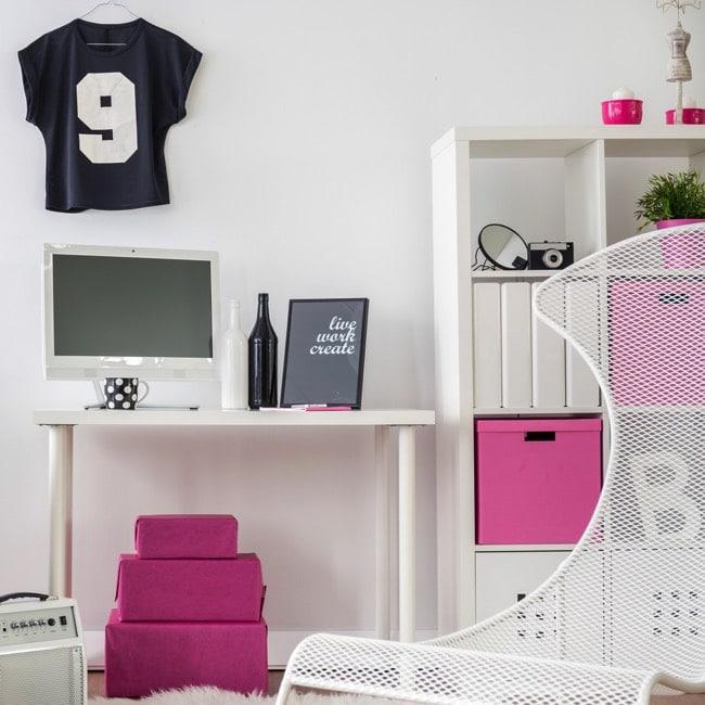 Chambre de fille: 99 idées déco et modèles de 8 à 18 ans