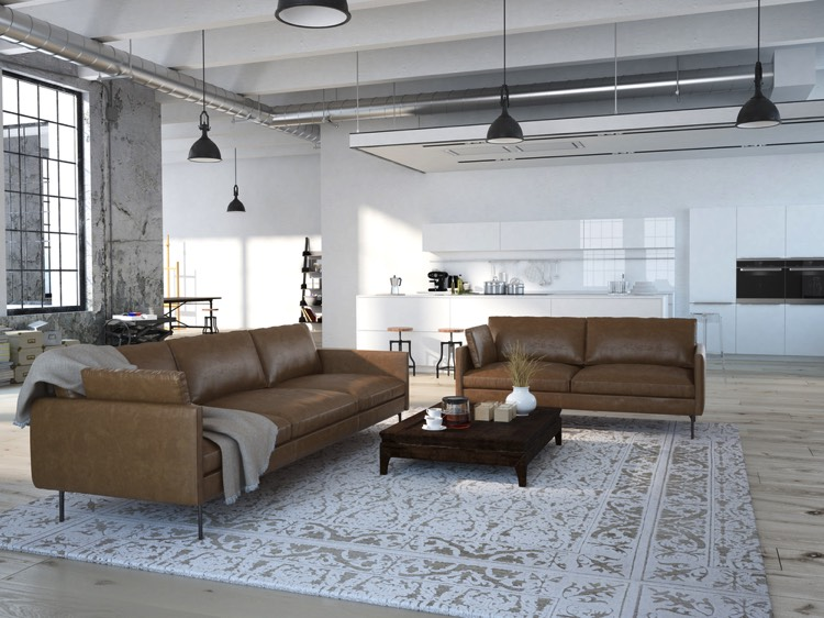 50 salons et salles manger de style loft ou industriel for Salle a manger loft