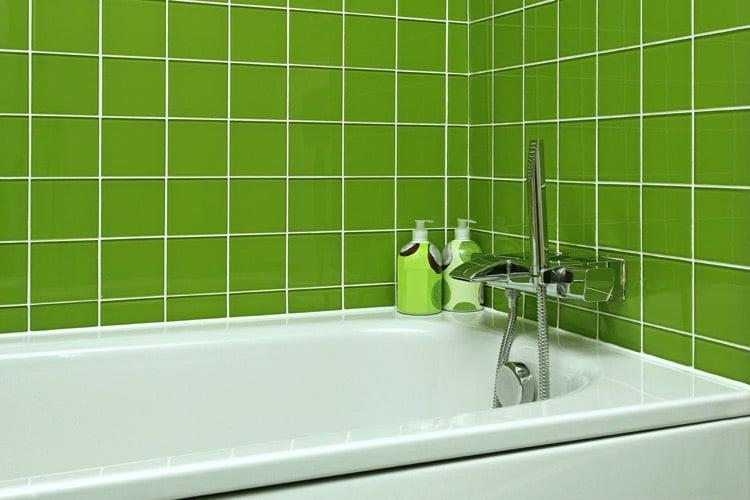 Salle de bains verte 125 id es pour vous convaincre for Salle de bain verte