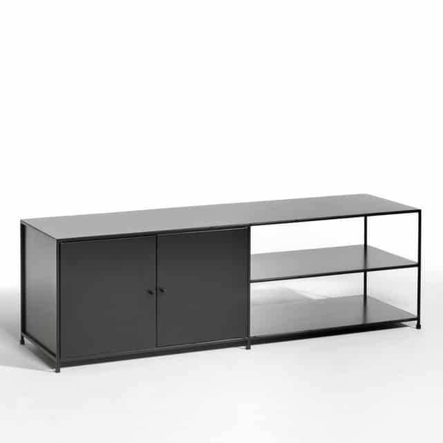 meuble tv industriel 40 id es et mod les 100 d cal s. Black Bedroom Furniture Sets. Home Design Ideas